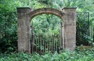 overgrown_gate_1_stock_by_gothicbohemianstock