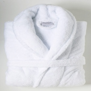 fleece-bath-robe-white